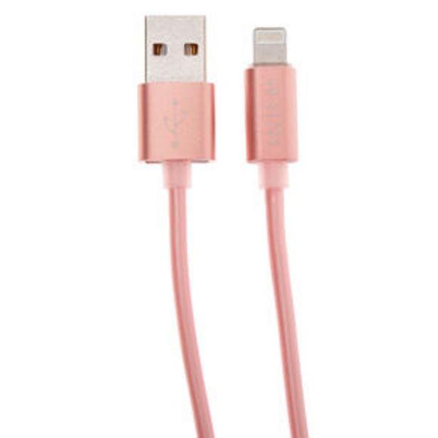Προσφορά USB 3M Charging Cord - Rose Gold για 4,5€
