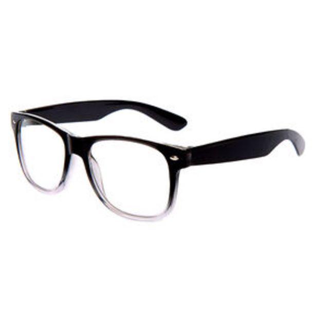Προσφορά Ombre Retro Clear Lens Frames - Black για 4,8€