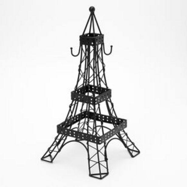 Προσφορά Eiffel Tower Jewelry Holder - Black για 12€
