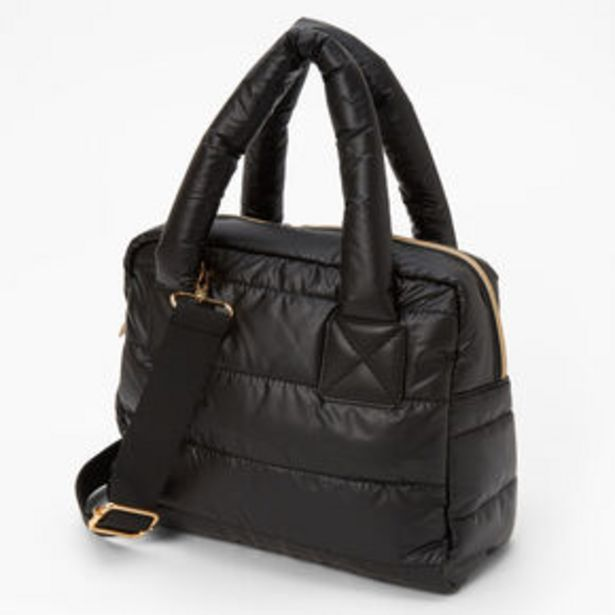Προσφορά Slouchy Duffel Crossbody Tote Bag - Black για 15€