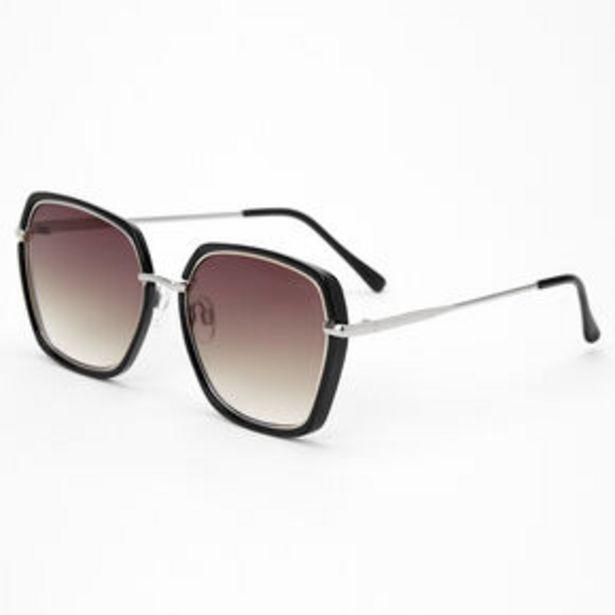 Προσφορά Black Oversized Geometric Sunglasses για 7,2€