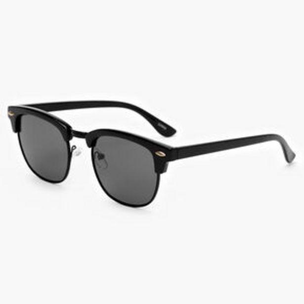 Προσφορά Retro Browline Sunglasses - Black για 7,2€