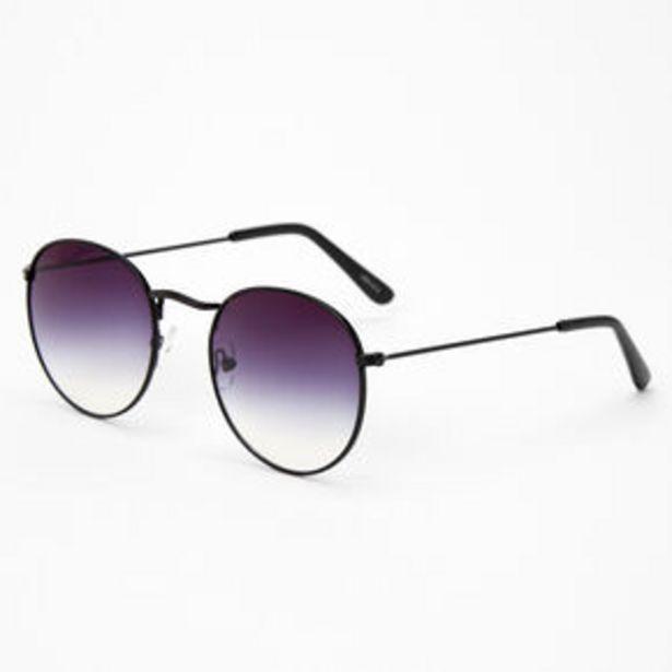 Προσφορά Faded Round Sunglasses - Black για 7,2€