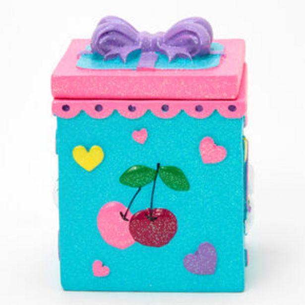 Προσφορά Glitter Cherries Trinket Keepsake Box για 6€