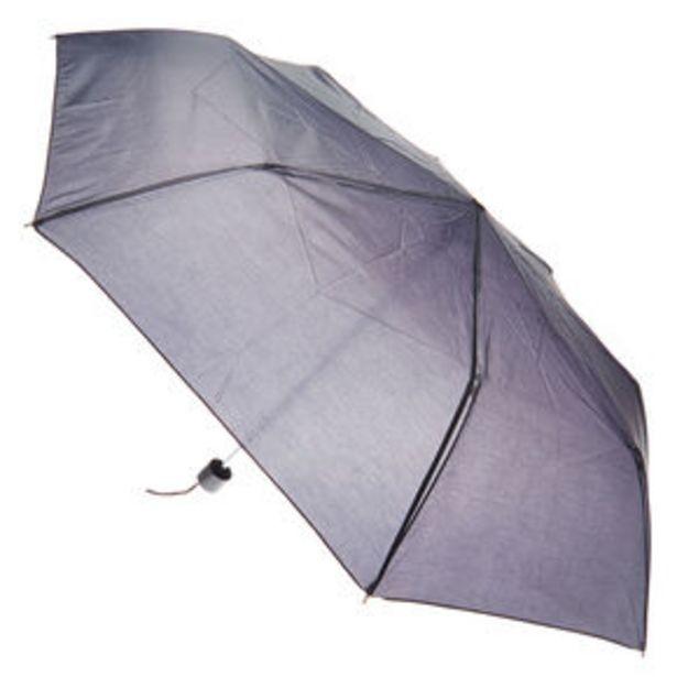 Προσφορά Plain Black Compact Umbrella για 4,8€