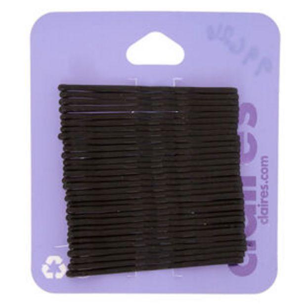 Προσφορά Matte Bobby Pins - Black, 30 Pack για 0,9€