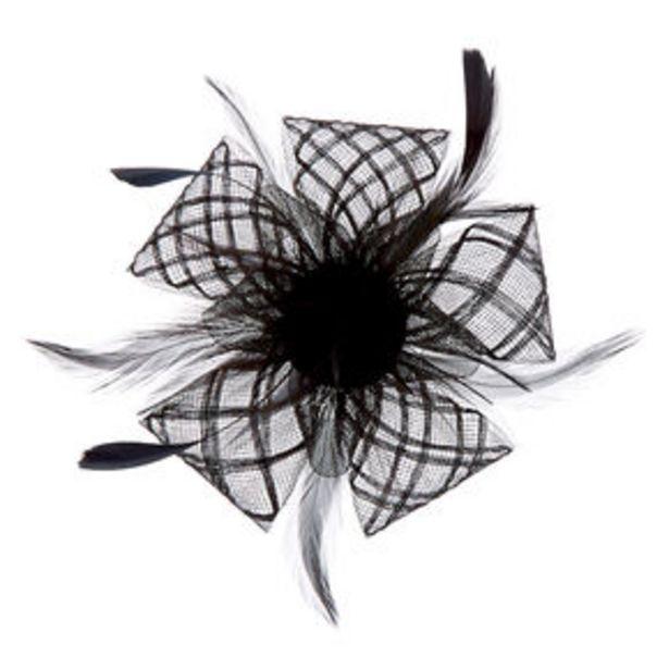 Προσφορά Criss Cross Hair Fascinator - Black για 9,6€