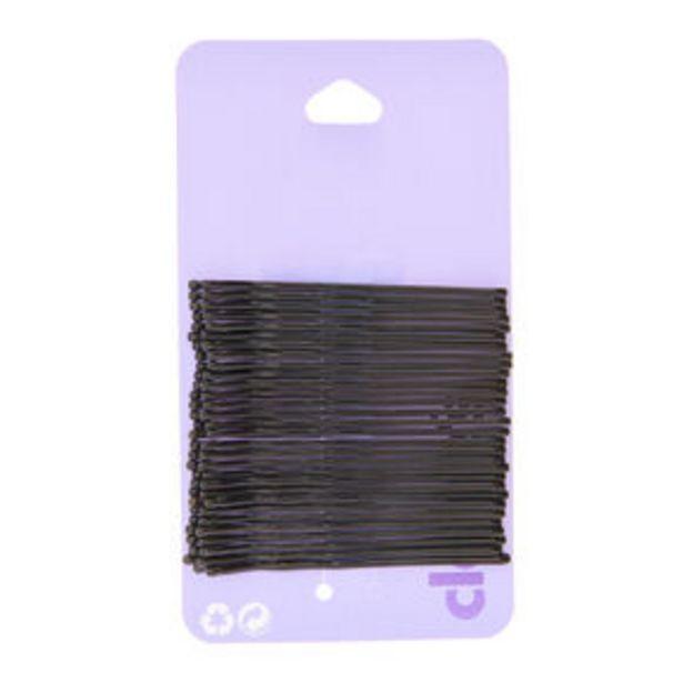 Προσφορά 30 Pack Large Black Hair Grips για 1,8€