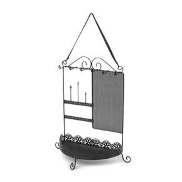 Προσφορά Hanging Jewelry Holder - Black για 9€