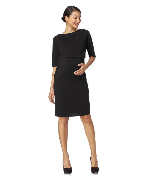 Προσφορά Γυναικείο Φόρεμα Θηλασμού Σωλήνας Μαύρο για 20,99€