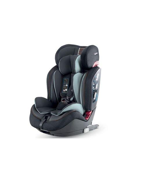 Προσφορά Inglesina Κάθισμα Αυτοκινήτου Gemino I-Fix 1 2 3 Black για 239,2€