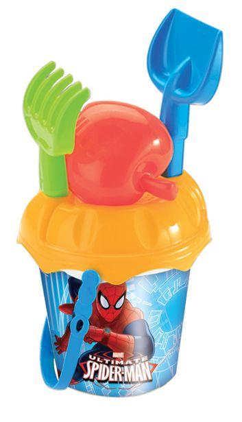 Προσφορά John Μικρό Κουβαδάκι με Αξεσουάρ Spiderman 03168MRV για 2,79€