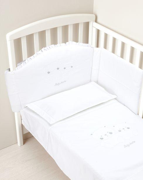 Προσφορά Σετ για κρεβάτι 4 τεμ. λευκό για 94,49€