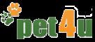 Λογότυπο Pet 4 U